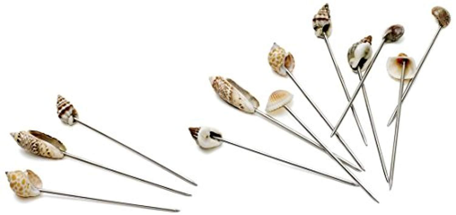 Seashore Olive Picks, Set of 12