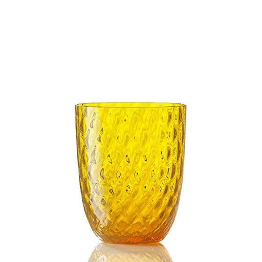 Set 4  Idra balloton water glass yellow