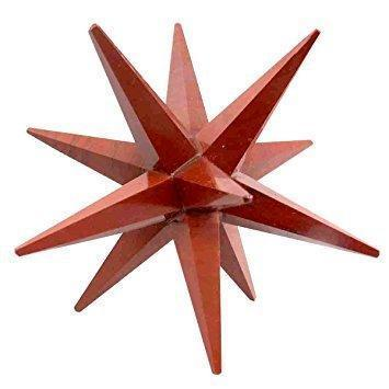 Red Jasper 12 Point Merkaba Star