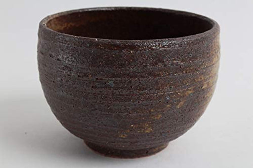 Mino ware Large Bowl Burnt Brown