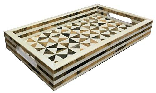 Handmade Bone Inlay Decorative Tray