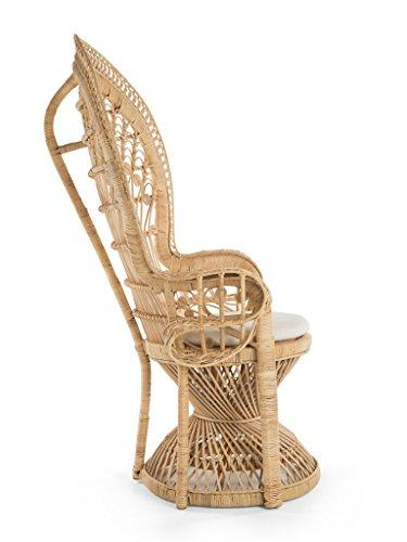Peacock  Chair in Rattan