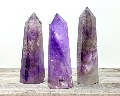 Amethyst Quartz Crystal Tower 5""
