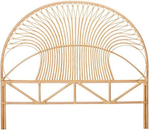 Rattan Headboard King Natural