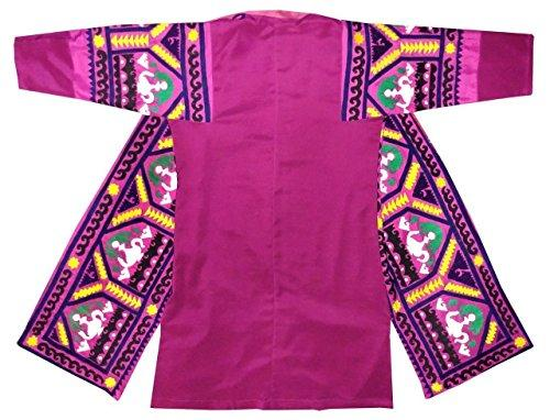 Vintage hand made embroidered Silk Robe Bukhara  Sold