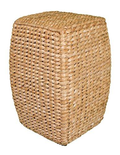 Natural Seagrass Accent Stoo21 inch Stool