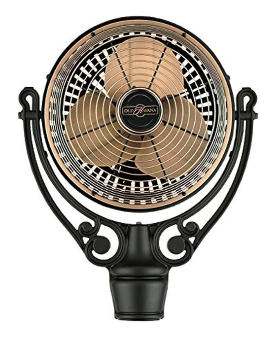 Antique Copper /Black Fan