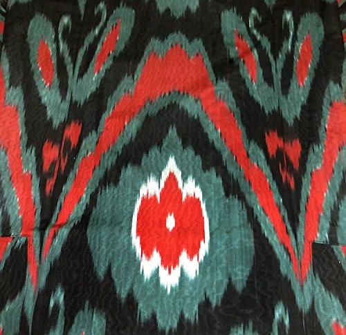 Vintage Hamd made Natural Cotton Ikat Robe Sold