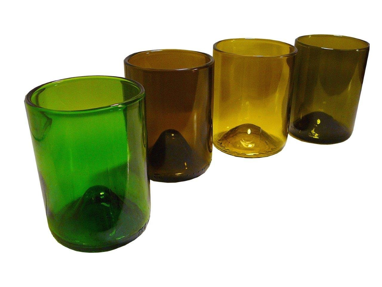 Recycled Wine Bottle Glassware,