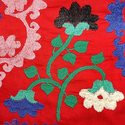 Vintage Uzbek Silk Hand Embroidered Robe Bukhara Sold