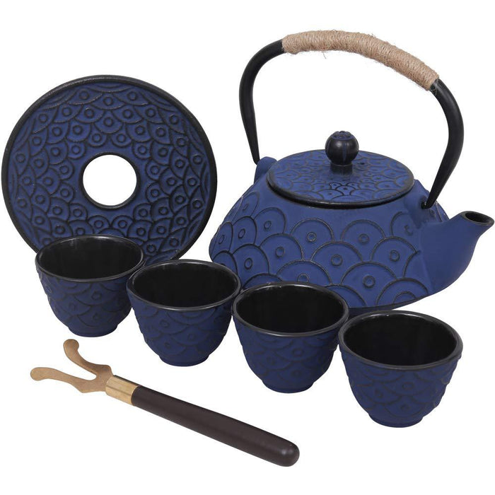 Cast Iron Teapot Set