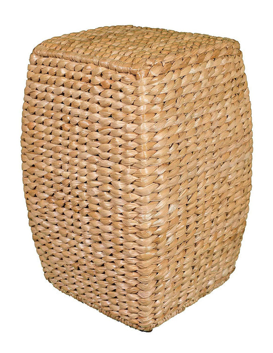 Natural Seagrass Accent Stool 21 inch Stool