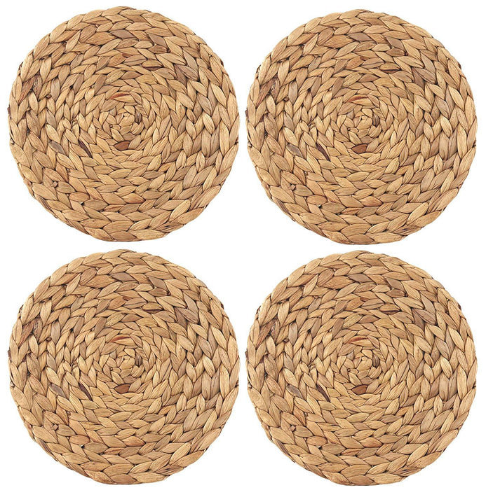 Handmade Straw Woven  Braided Placemat