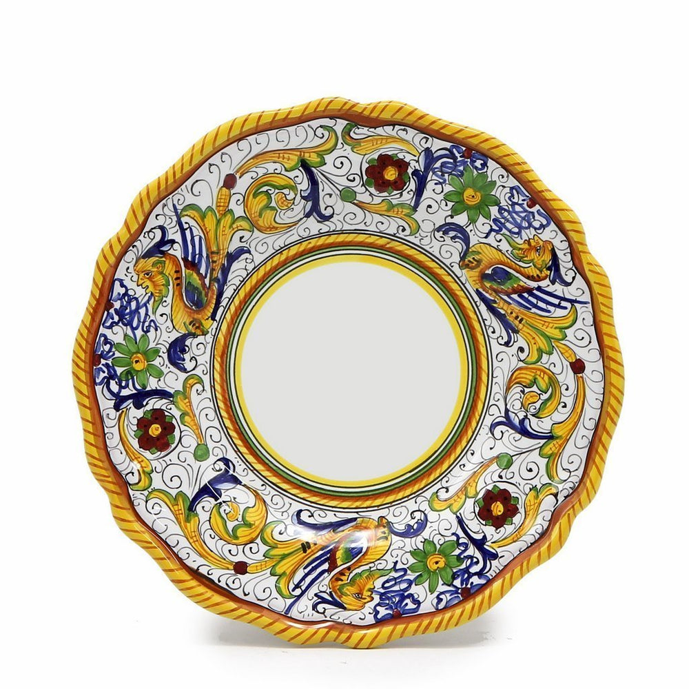 RAFFAELLESCO: Salad Plate - White Center