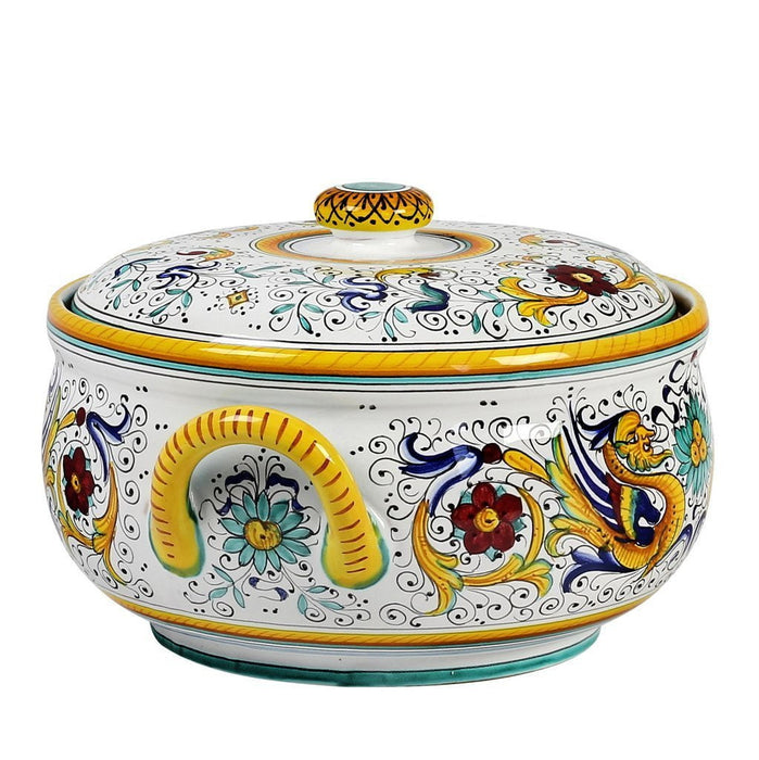 RAFFAELLESCO: Soup Tureen with Stainless Steel Laddle