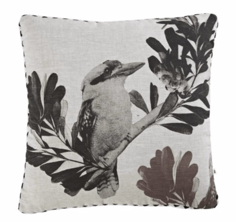 El Lorito Linen Pillow cover