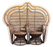 Los Amantes vintage double plantation peackok chair