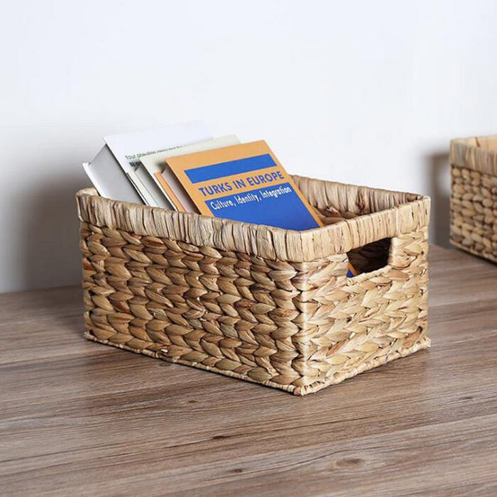 Natural Straw Decorative Seagrass Woven Basket