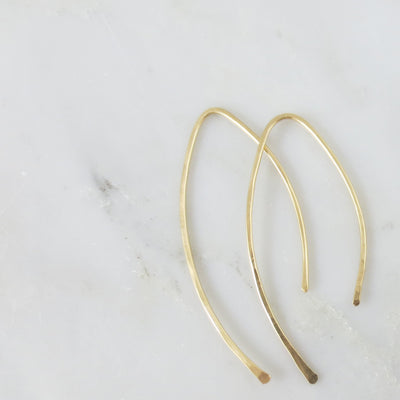 Austin arc earrings
