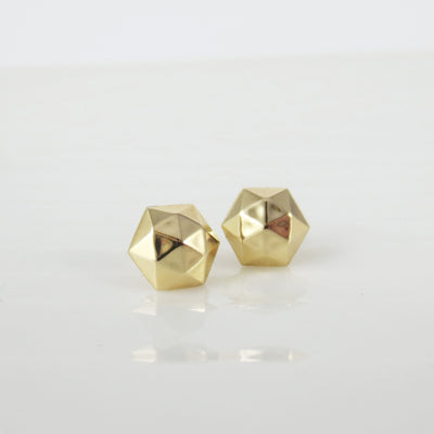 Faceted dome studs