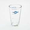Measure Up pint glass