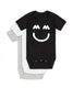 Big Smile Bodysuit Set (3 Pack)