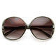 Womens Circle Round Oversize Fashion Sunglasses 8816