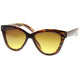 Woman's Elegant Retro Sharp Cat Eye Frame Sunglasses 9593