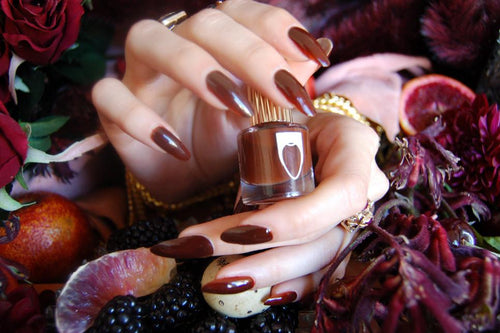 Blood, Suede & Tears nail polish