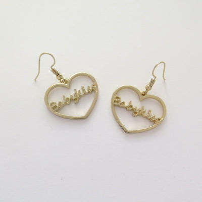 BabyKiss Heart Hoop Earrings