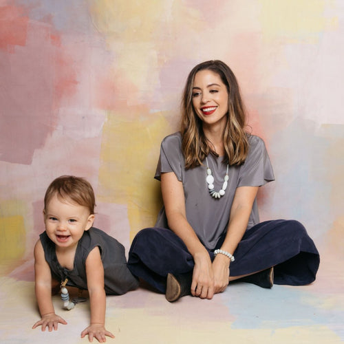 Moonlight signature teething necklace