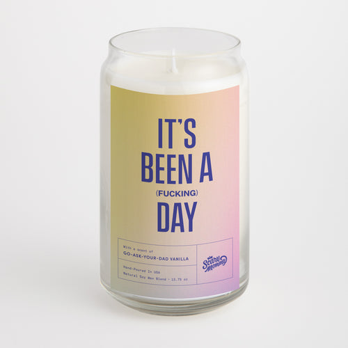 It's Been A (Fucking) DAY candle