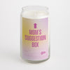 Mom's Suggestion Box candle