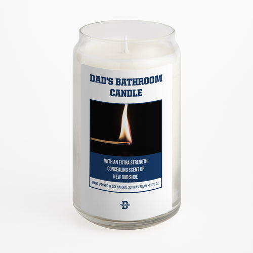 Dad's Bathroom Candle
