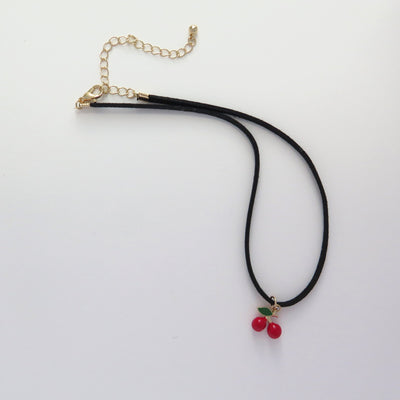 Red Cherry Choker
