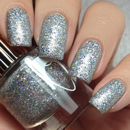 Dimepiece holographic glitter nail polish