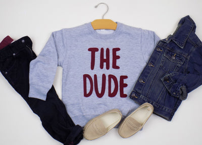 The Dude kid sweatshirt