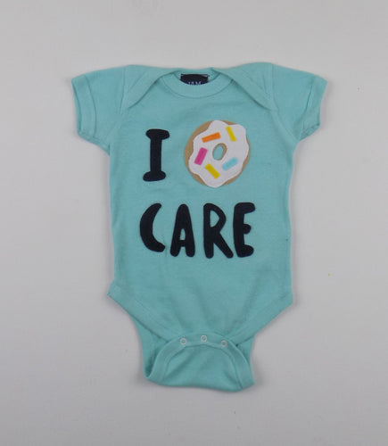 I Donut Care onesie