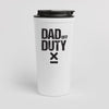 Dad Off Duty tumbler