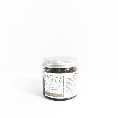 'coffee' facial scrub