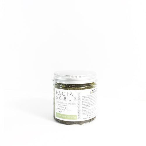 'green tea matcha' facial scrub