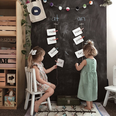 Word Family flashcard set