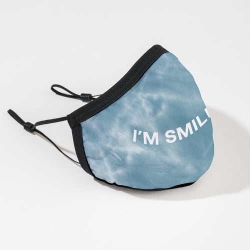 I'm Smiling/I'm Not Smiling mask two pack