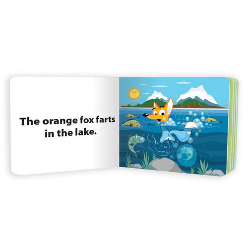 """Where Does The Fox Fart?"" picture book"