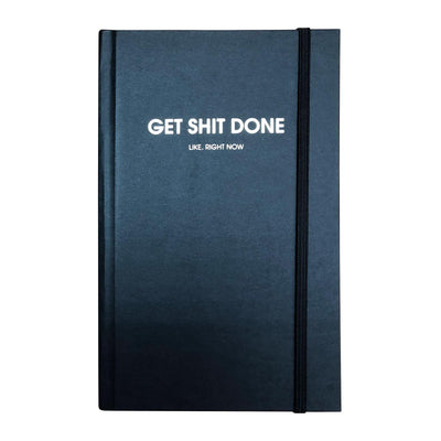 Get Shit Done Black Journal
