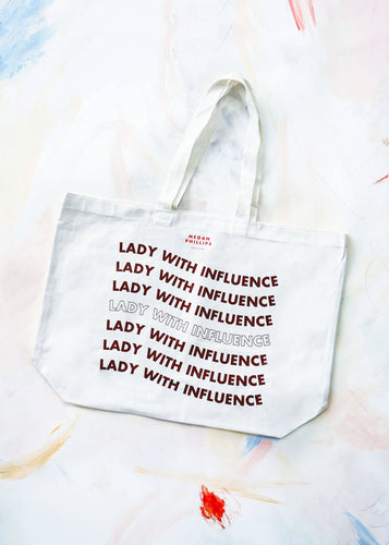 Lady With Influence Tote Bag