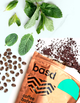 Invigorating Mint coffee scrub
