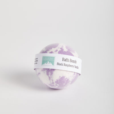 Black Raspberry & Vanilla Bath Bomb