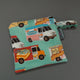 Food Trucks reusable sandwich bag