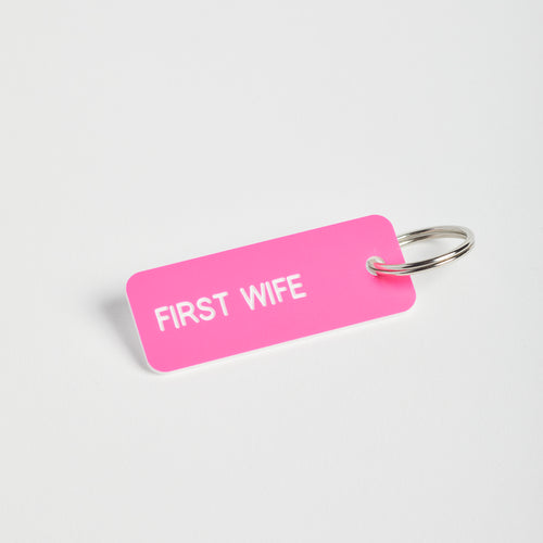 First Wife keychain